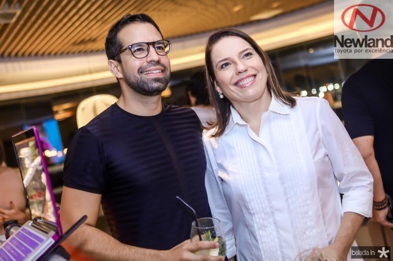 Luis Marfrenze e Denise Bezerra