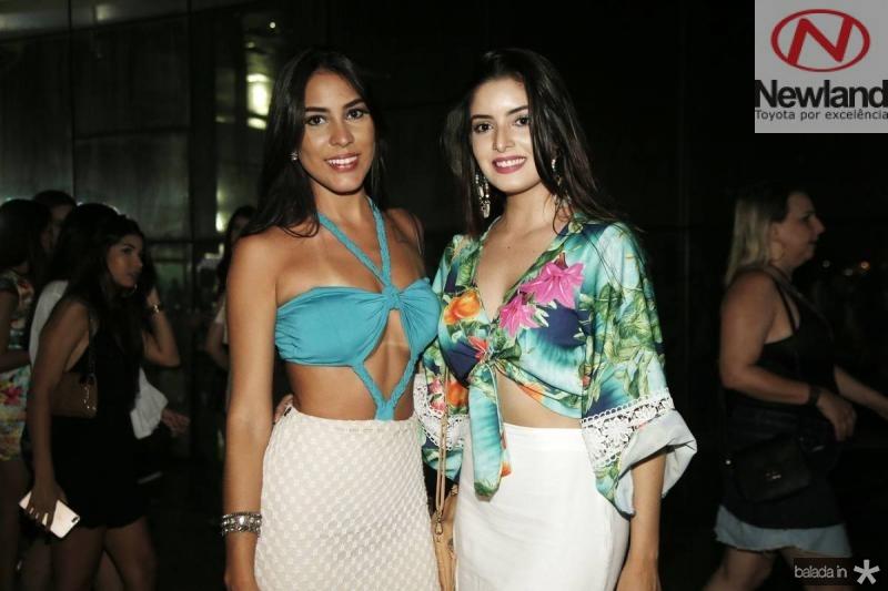 Aline Xerez e Renatha Alves