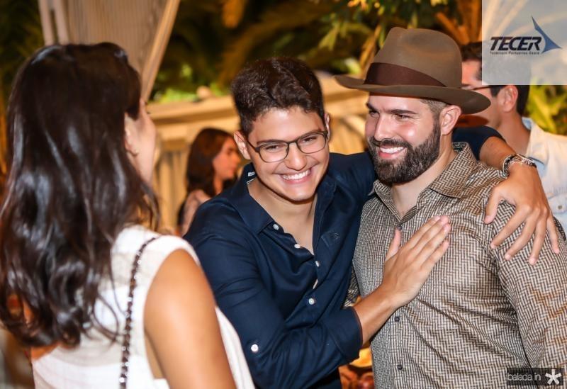 Marcela Pinto, Otavio Queiroz e Felipe Rocha
