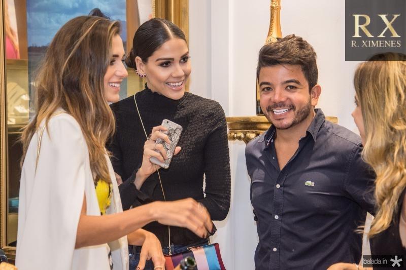 Alix Pinho, Mirelle Vasconcelos, Rafael Gualberto e Mirella Rocha
