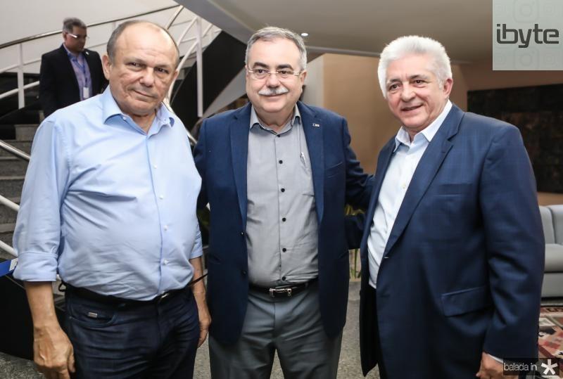 Honorio Pinheiro, Assis Cavalcante e Deusmar Queiroz