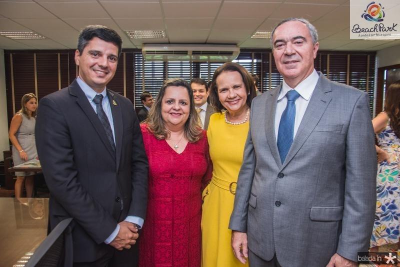 Moises Costa, Denise Olsen, Valeria Cavalcante e Luis Eduardo