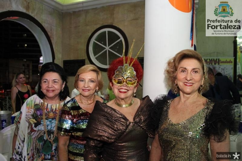 Marta Cambraia, Maria Amoreira, Josilda Belchior e Va?nia Ferreira Gomes