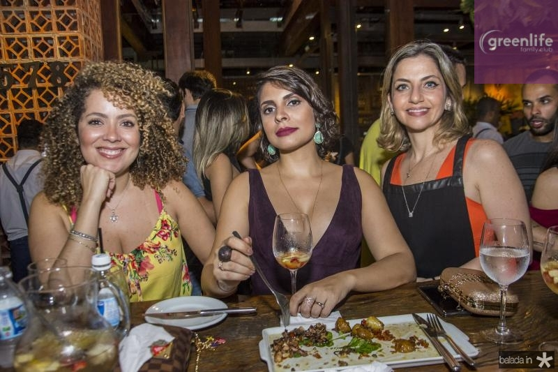 Juliana Oliveira, Roberta Dutra e Erica Sales