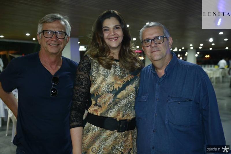 Elenilton Jorge, Ana Martins e Paulo de Tarso