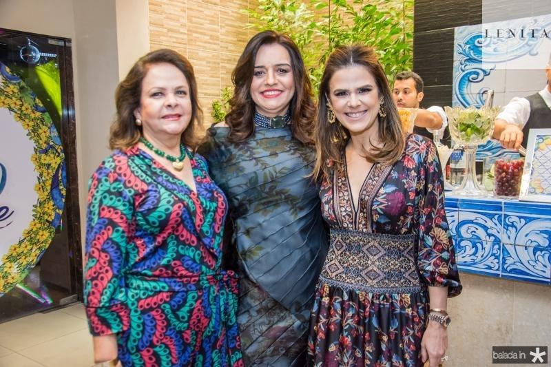 Nadja Parente, Lia Freire e Niedja Bezerra