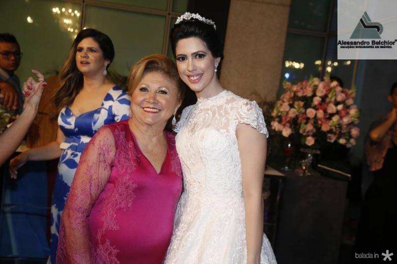 Marluce e Lorena Aragao