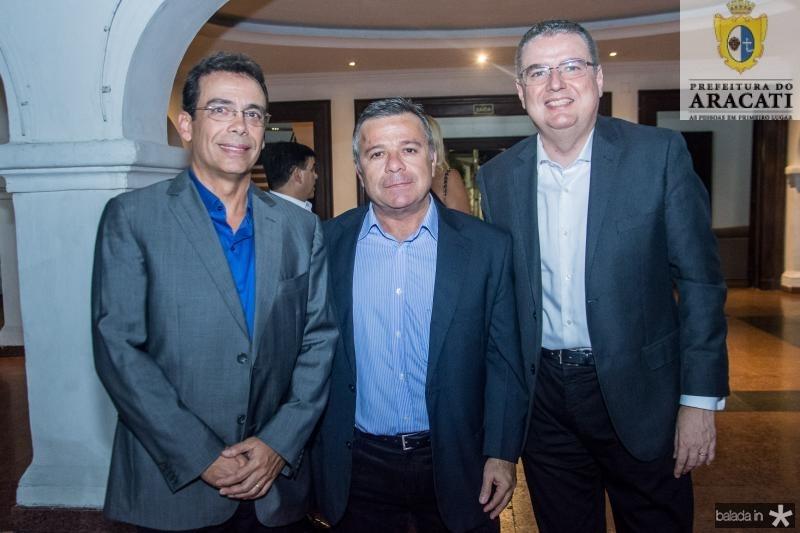 Gustavo Porto, Manuel Juca e Luis Fernando Mota