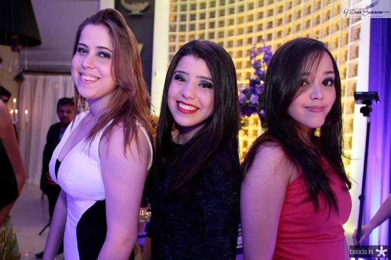Mariana Fialho,Rayssa Cavalcante e Marina Lima