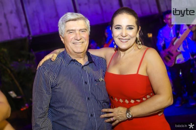 Amarilio e Patricia Mecedo