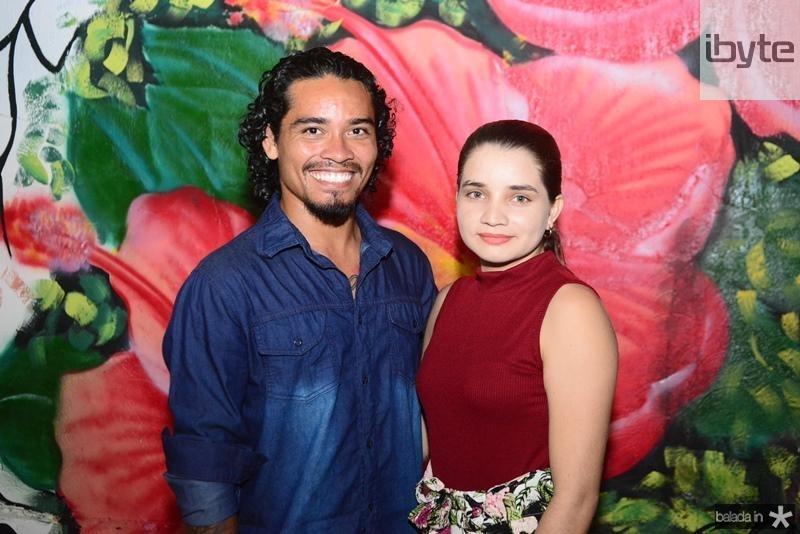Silvio Junior e Andresa
