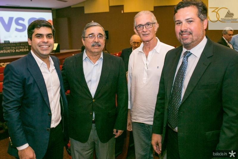 Queiroz Filho, Roberto Ergio Ferreira, Dinalvo Diniz e Samuel Dias