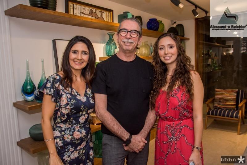 Luciana Cidrao, Eugenio Vieira e Marilia Cidrao
