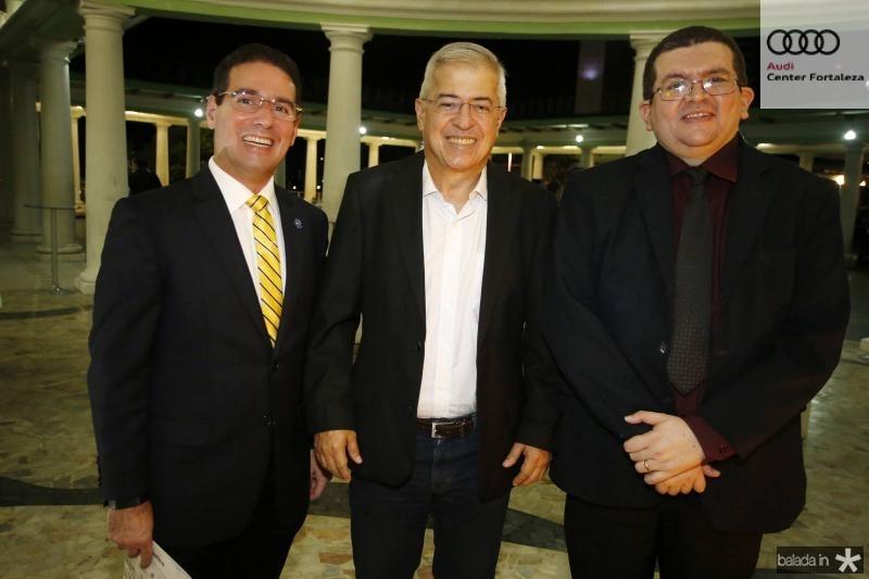 Roberto Araujo, PC Noroes e Salomao de Castro
