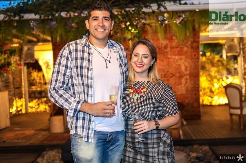 Ronaldo Oliveira e Brana Queiroz
