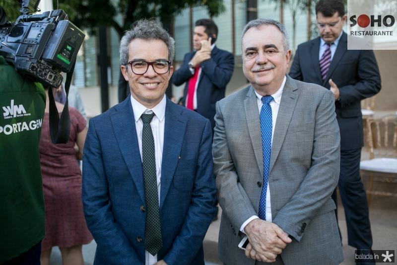 Fabiano Piuba e Assis Cavalcante