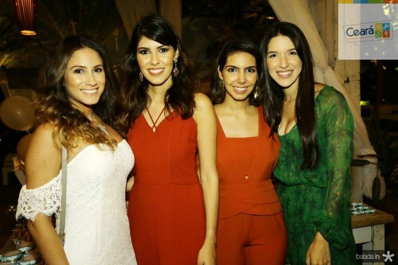 Ana Carolina Bichucher, Flavia Simoes, Carla Laprovitera e Lisandra Fujita