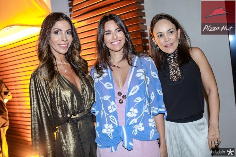 Synara Leal, Milena Holanda e Denise Dias