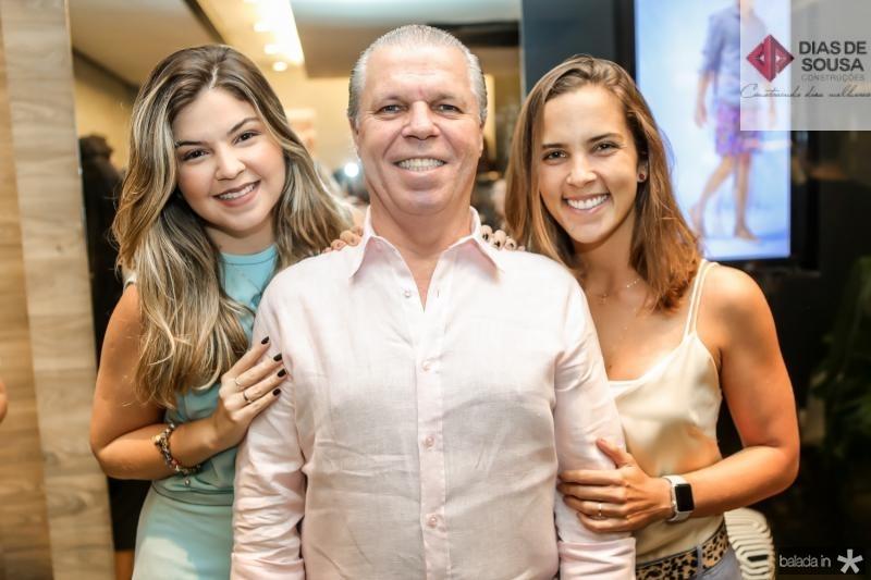 Claudia, Claudio e Alice Studart