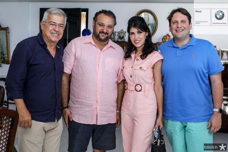 Patriolino Dias com PC Norões, Flávia Laprovitera e Daniel Otoch Simões
