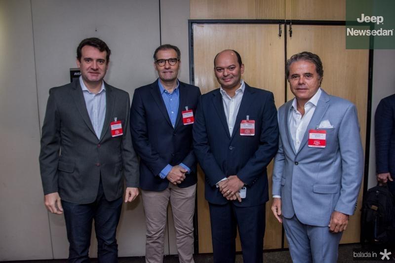 Fernando Gurgel, Eduardo Figueiredo, Otilio Ferreira e Ivan Bezerra