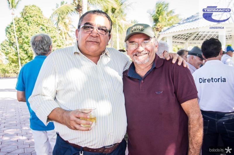 Rosendo Ribeiro e Antonio Carvalho