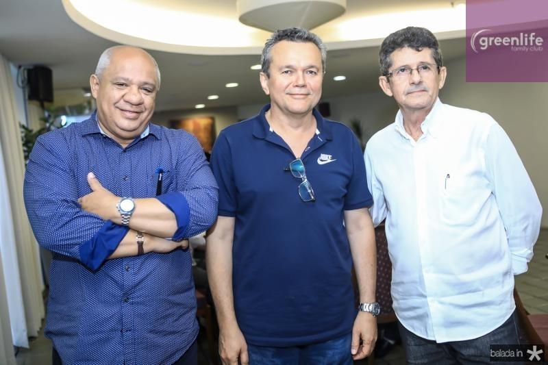 Pedro Alfredo, Eulalio Costa e Augustinho Alcantara