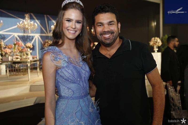 Clara Dal Belo e Dudu Ferreira