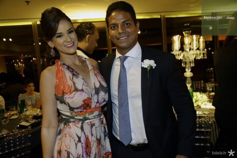 Suzana Mauricio e Saulo Santos