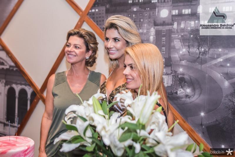 Ana Cristina Wolf, Anelise Barreira e Leticia Studart