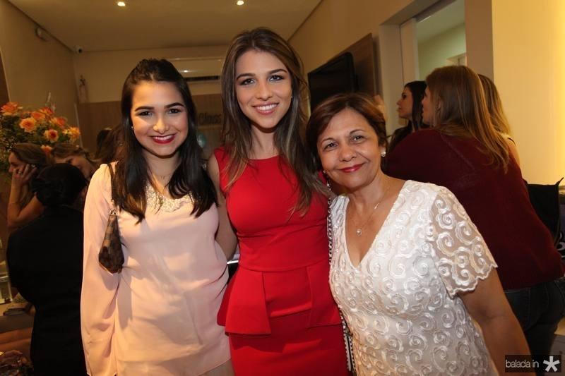 Nayana e Aline do Vale e Cristina Oliveira