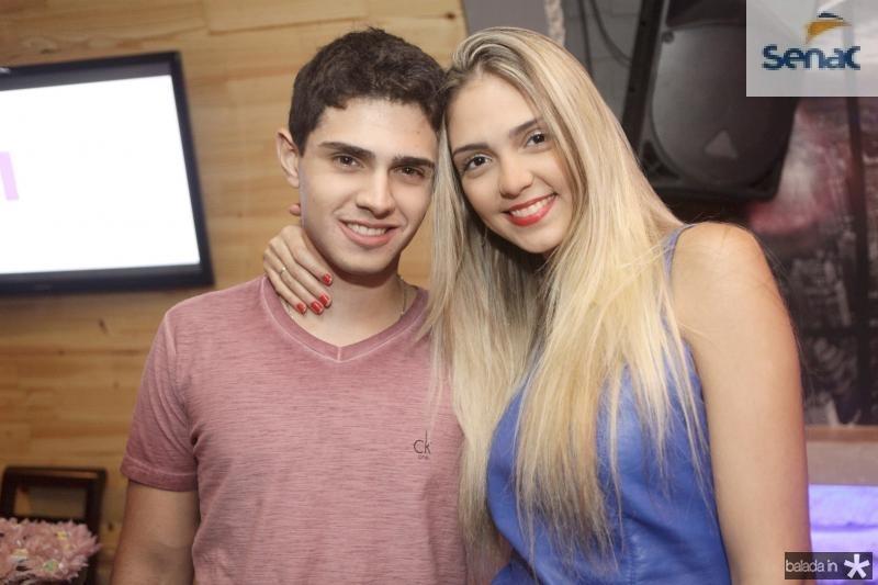 Lucas Nogueira e Priscila Levi