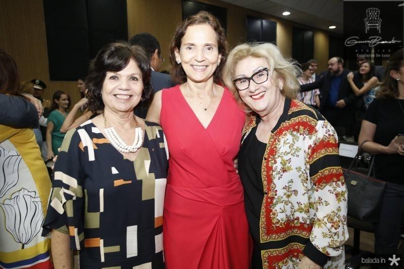 Candida Torres de Melo, Izolda Cela e Socorro Franca