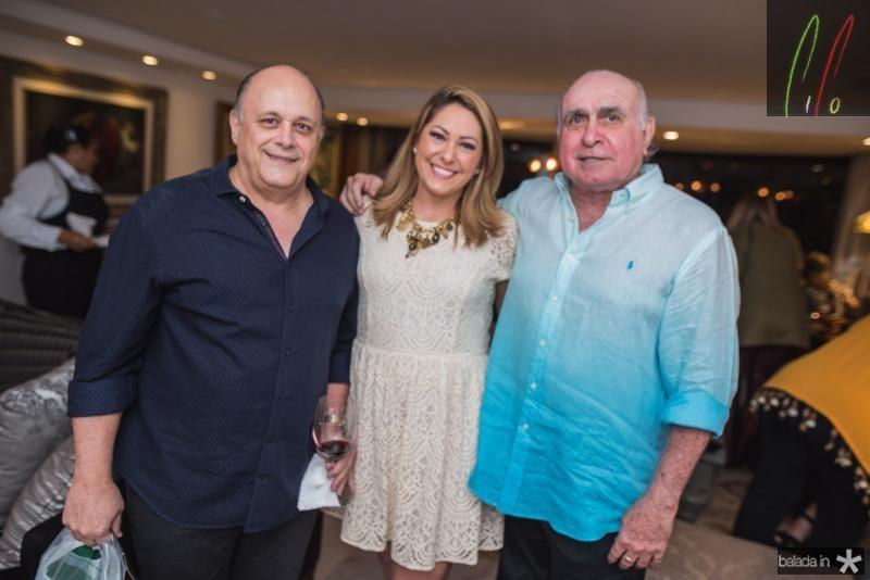 Philomeno Junior, Rachel Philomeno e Walkimar Santos