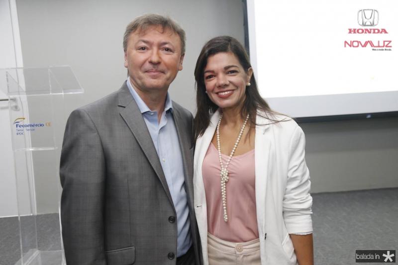Mauricio Filizola e Pollyana Brandao