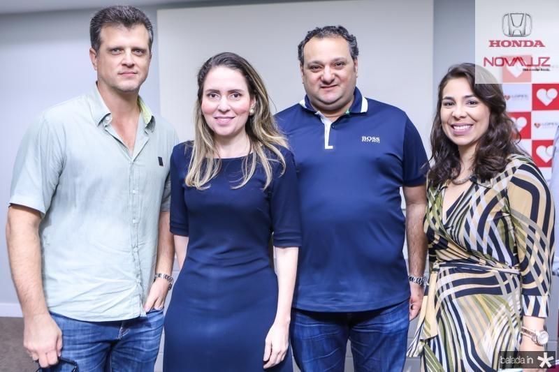 Fabio Otoch, Agueda Muniz, Patriolino Dias e Gisela Gomes