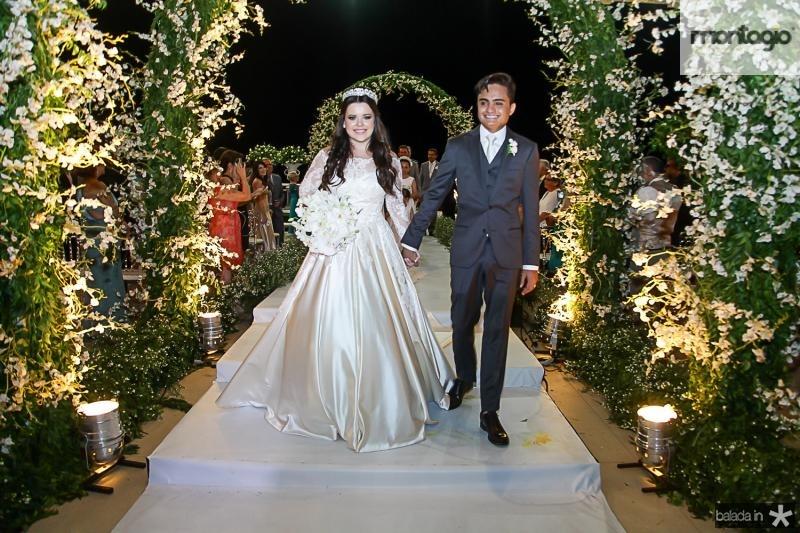 Clara Ferreira e Felipe Araujo