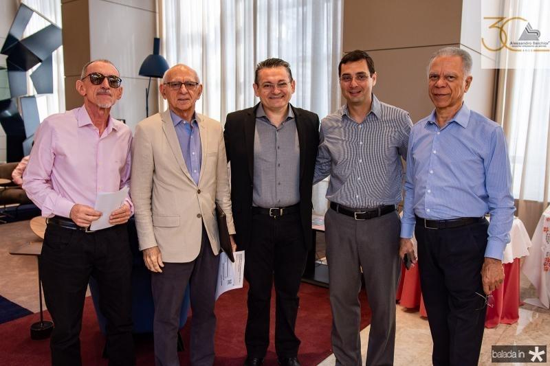 Joso Paulo Sousa, Gerson Fonteles, Claudio Goncalves, Luiz Miranda e Sergio Melo