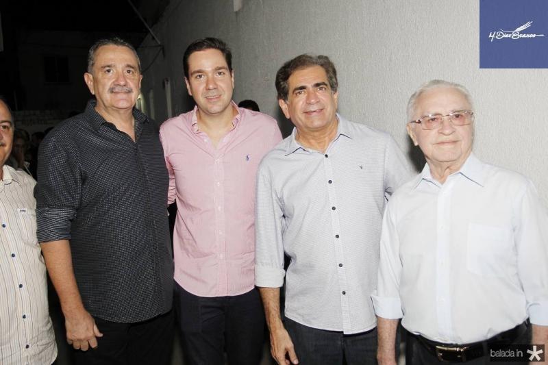 Bismarck Maia, Eduardo Bismarck, Zezinho Albuquerque e Abelardo Filho