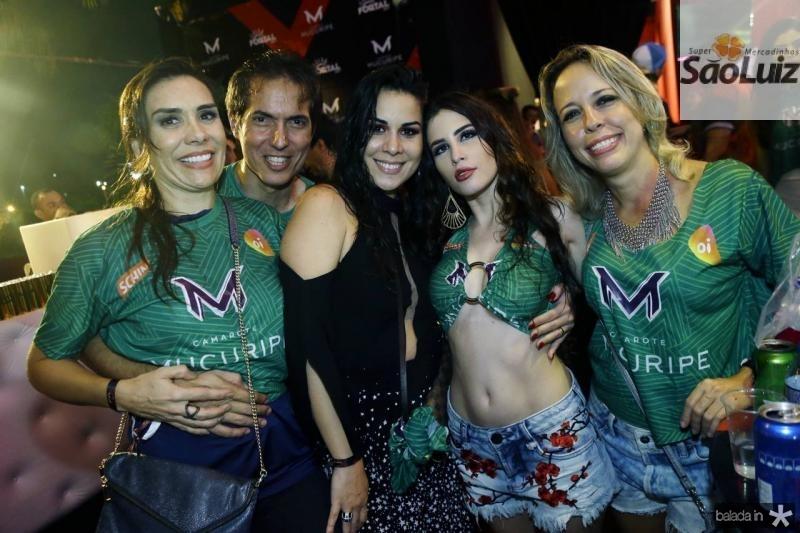 Ane e Leo Alcantara, Bruna Santos, Camilla Ukers e Raquel Barreira 2