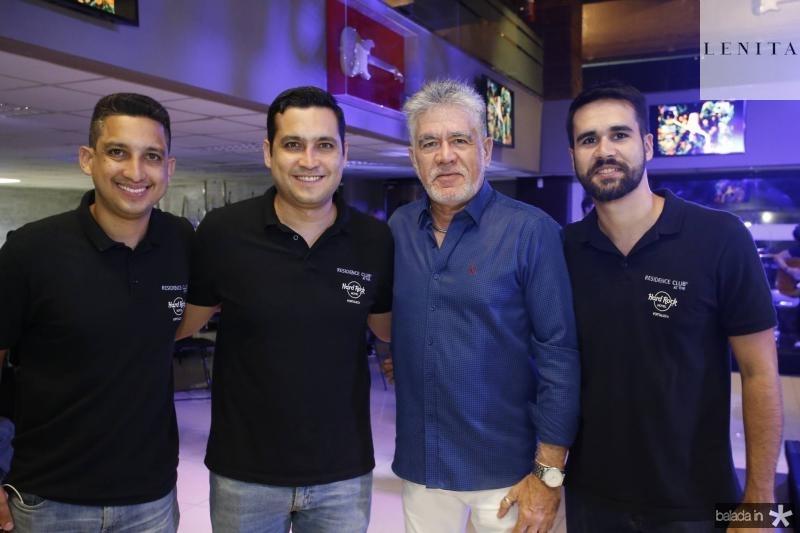 Lauro e Luiz Sobreira, Alfredo e Lucas Pearce