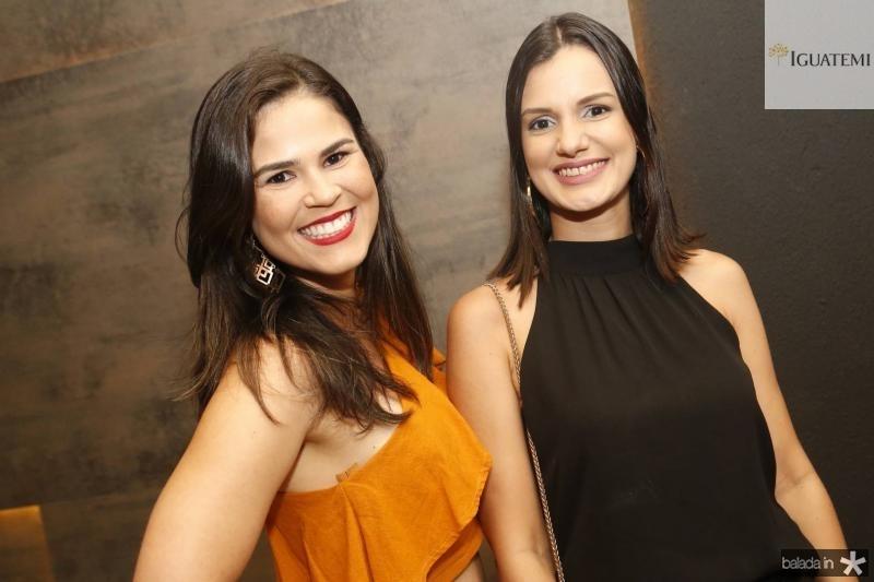 Aline Holanda e Vanessa Vieira