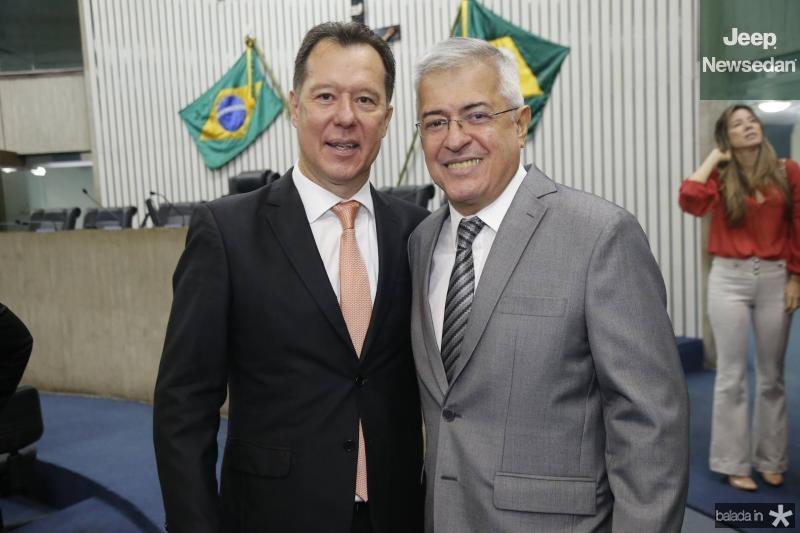 Carlos Fujita e PC Noroes