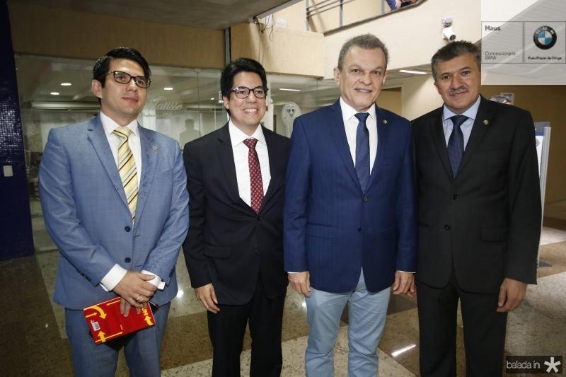 Franco Almada, Andrei Aguiar, Jose Sarto e Antonio Henrique