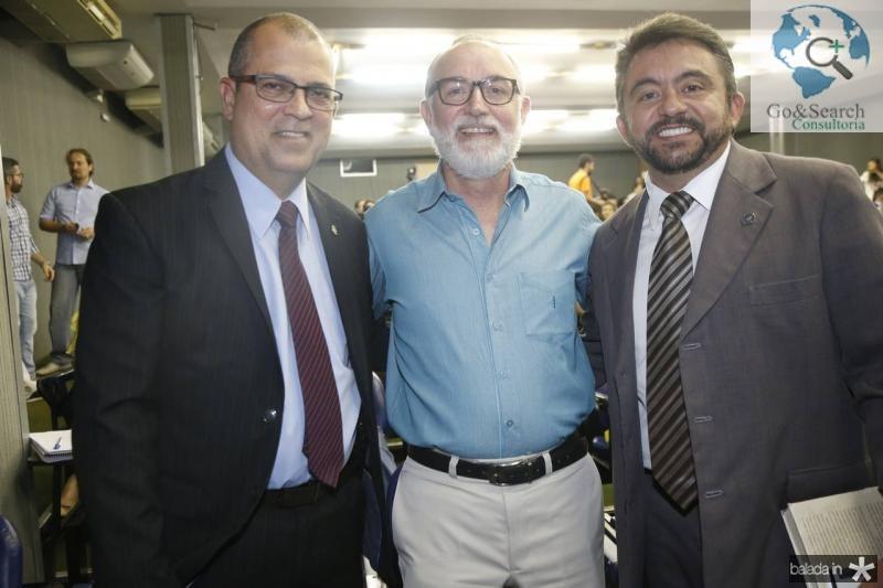Alexandre Avila, Marcos Ratacazo e Andrade Junior