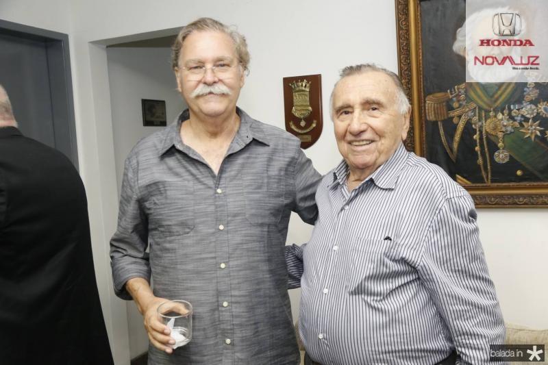 Antonio Carlos Juacaba e Gilberto Rangel