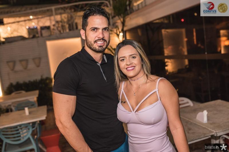 Jerferson Cardoso e Samantha Lemos