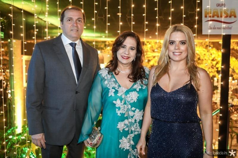 George e Marttinha Assunçao, Leticia Studart