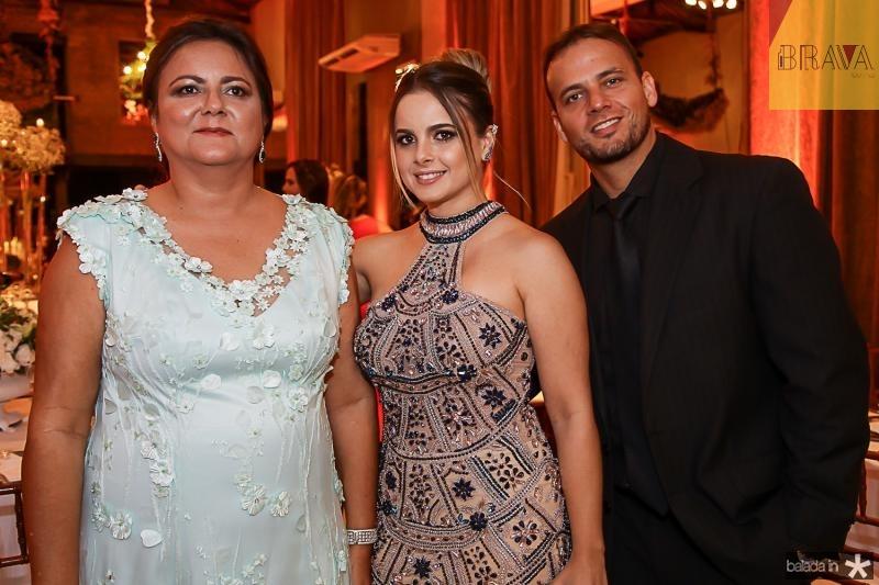 Marta Cunha, Richelle e Fabio Mondin