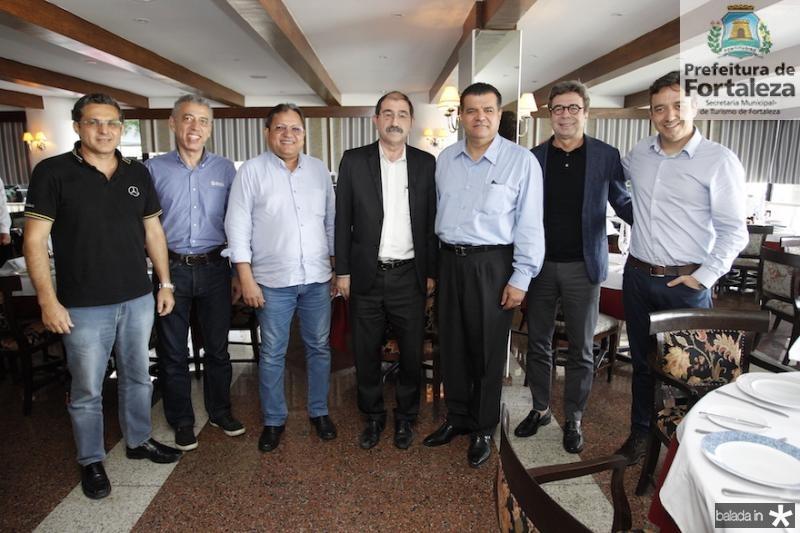 Kleber Jorge, Antonio Novaes, Andre Varela, Constantino Valtas, Odmar Feitosa, Paulo Porto e Jacklin Vieira